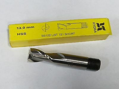 DOALL 19MM Metric 19 MM HSS 2 Flutes Slot Drill Threaded End Mill endmill LONG