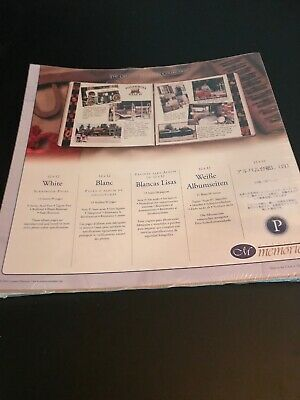 Creative Memories Old Style White Pages