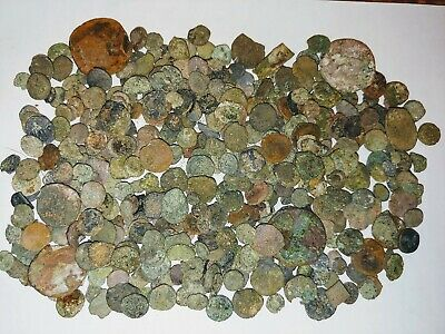 6th Century Byzantine & Late Roman Bronze Coin Lot