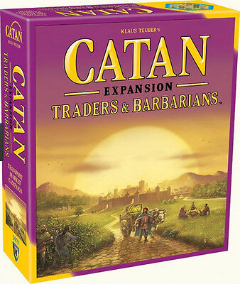 CATAN - Traders & Barbarians Board Game Expansion (Mayfair Games) #NEW