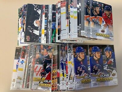 2019-20 Upper Deck CANVAS inc Young Guns Rookies u pick/finish/complete your set