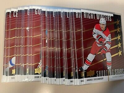 2019-20 Upper Deck UD Shooting stars RED insert u pick/finish/complete your set