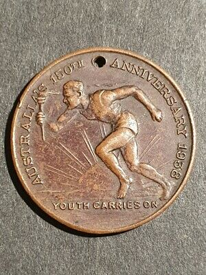 NEW SOUTH WALES - AUSTRALIA - 150th Anniversary - 'YOUTH CARRIES ON' MEDALLION