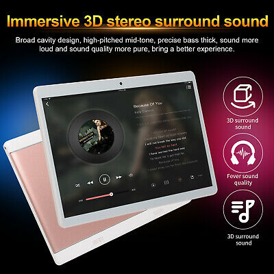 HD Game Tablet Computer PC Android 8.0 Ten Core 10.1 Inch  GPS Wifi Dual Camera