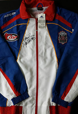 MANNY PACQUIAO Signed Official Tracksuit HATTON Fight WELTERWEIGHT BOXING COA