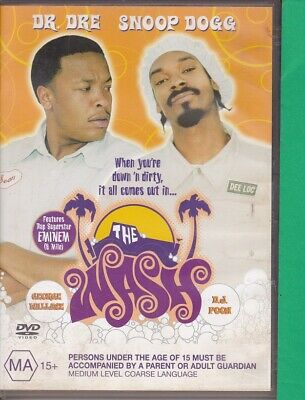 The Wash (X, DVD, 2003, Region 4) Dr Dre, Snoop Dog