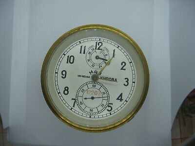 Russian marine chronometer POLET # 12203. For restoration or for spare parts.