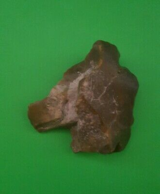 Sublime Upper Paleolithic/ Mesolithic Rock Art Animal Profile Stone.