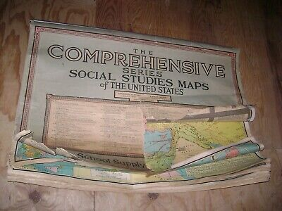 The Comprehensive Series Social Studies Maps of The United States