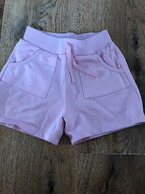 Girls Pink Shorts Age 7 With Pockets