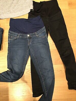 Maternity Bundle - 2 Topshop Jeans & 1 Gap Top