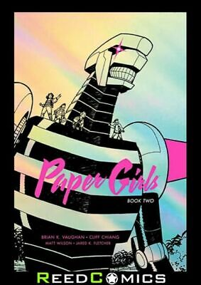 Paper Girls Deluxe Edition Volume 2 by Brian K Vaughan  | Brand New #10944