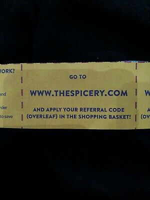 Free 'The Spicery' Referral Code - 10% Off New Customer Order Over £20