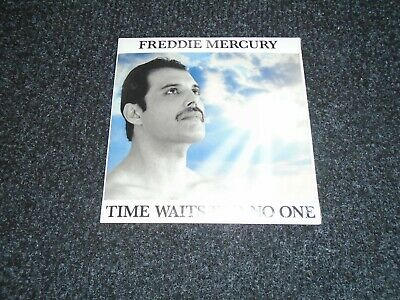 Time Waits For No One German CD Single Sealed - Freddie Mercury Queen