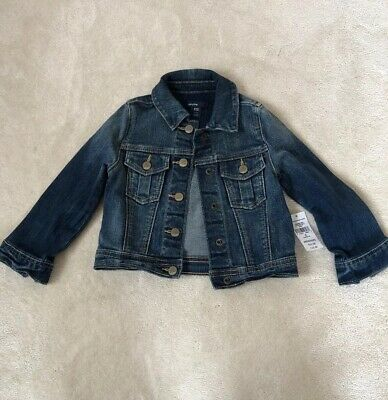 Baby Gap Girls Denim Jacket Age 2 New With Tags