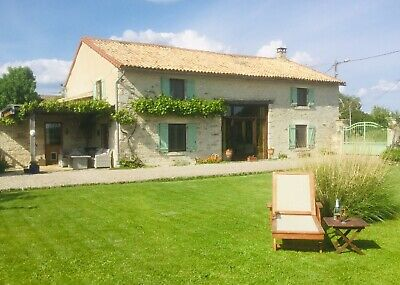 Stunning 4 Bed Barn Conversion with Heated Pool For Sale In France