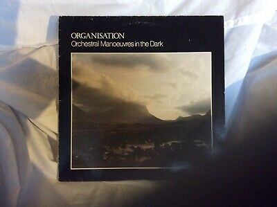 Orchestral Manoeuvers In The Dark (OMD)-Organisation. A1/B2 DinDisc Pressing