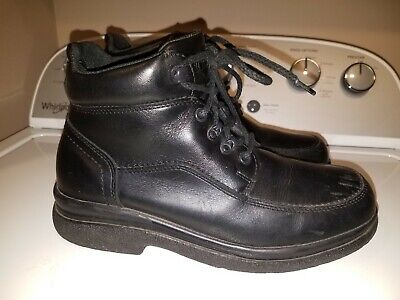 Red Wing Shoes Chukka Boot Size 8D Stock No. 8664 Made In USA Black Leather