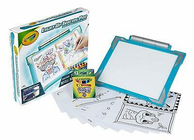 Crayola Light Up Tracing Pad Coloring Board For Kids Gift Assorted Colors 27 81 Picclick