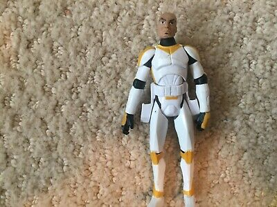 Hasbro Star Wars Clone Trooper Waxer Ryloth Clone Wars 3.75 Action Figure