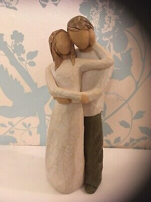 "WILLOW TREE ""TOGETHER"" Susan Lordi Figurine . Exc Cond"