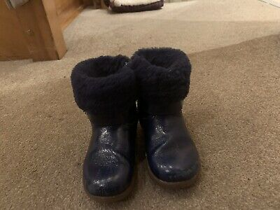 Baby Girls UGG Boots Navy Size 6