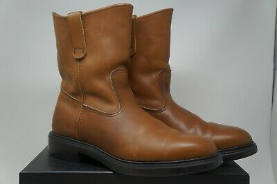 Red Wing Shoes Men's Brown Pecos Style Pull On Boots Size 11.5 B