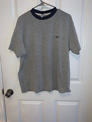 Tommy Hilfiger T-Shirt Mens Crew Neck Tee Classic Fit Short Sleeve Solid Shirt