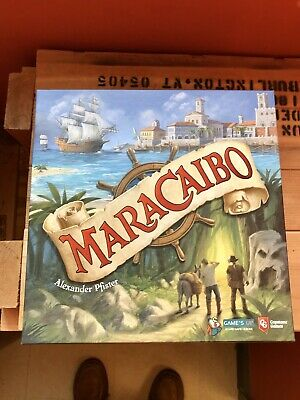 Maracaibo Board Game By Alexander Pfister and Capstone-Used-organizer Included