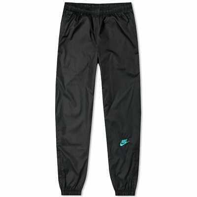 Nike Atmos Patchwork Pants CD6133-011 Black Hyper Jade Windrunner Track Pants