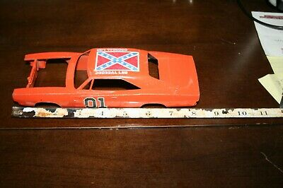 dukes of hazard general lee 1969 dodge charger metal body 1/24 1/25 scale