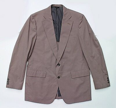 Jos. A. Bank Mens Sport Coat Taupe Cotton Blend