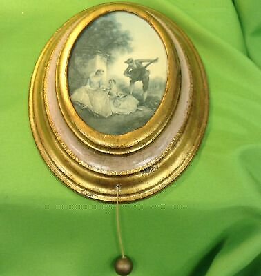 Regency Style  James Young Music Picture Swiss Musical Movement Tristesse-Chopin