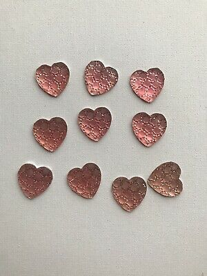 Flat Back Embellishments Pink Sparkly Heart Hair Bows