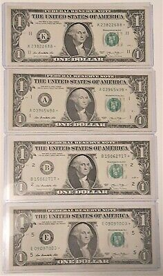 HBG  #1 MACHLEM-CARNEY 10 OF SEQUENTIAL SERIAL NUMBER $5 NOTES
