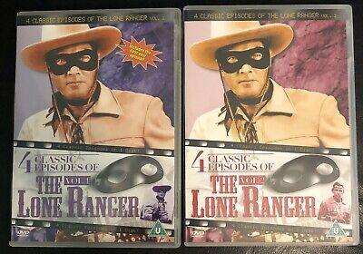 The Lone Ranger - Volume 1 & 2 [DVD] - (#A6)