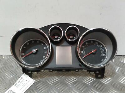 Instrument Cluster VAUXHALL ASTRA 2013 1364 Petrol 28502 Miles 13433798