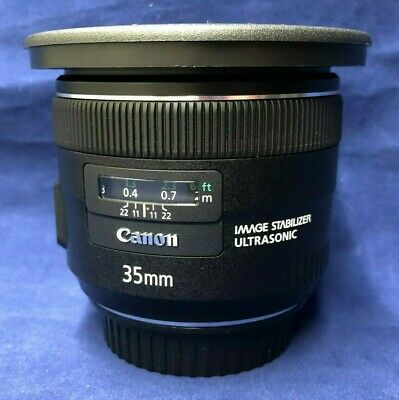 Canon EF 35mm f/2 IS USM Wide Angle Lens 5178B002 & Sensei 67-82mm Step-Up Ring