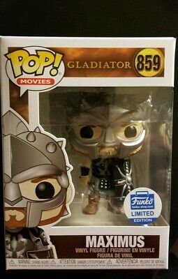 Funko Pop! Gladiator Maximus With Helmet #859 Funko Shop Exclusive