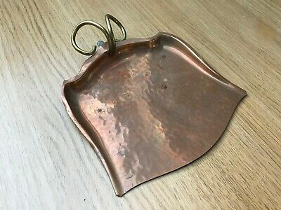 Small copper dust pan