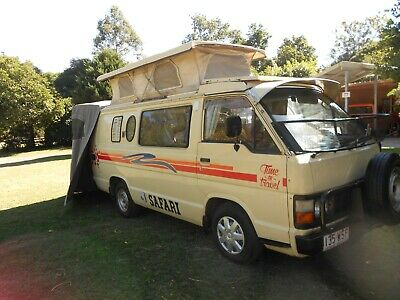 Toyota Hi-Ace Camper Van - A Little Beauty!