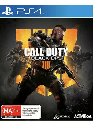 Call of Duty Black Ops 4 PS4 Playstation 4