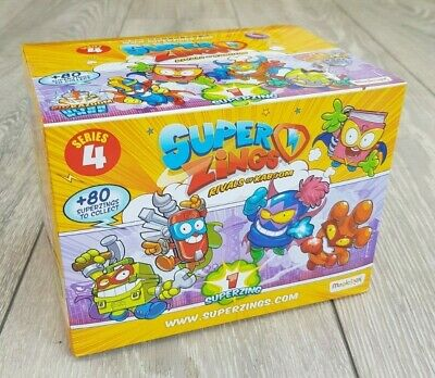 Superzings Series 4. Full Box of 50 packs. Super Zings. Rivals Of Kaboom.