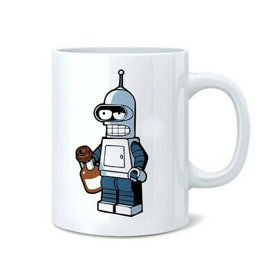 Bender Futurama Beer Funny Coffee Novelty Coffee Tea Mug Cup c159 - 11 oz