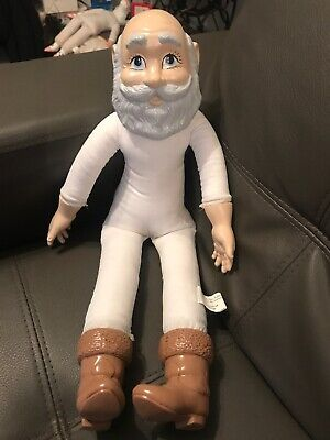 Bizaar Vintage Duncan Doll Body Grandpa Porcelain Head Feet Hands Plush Body