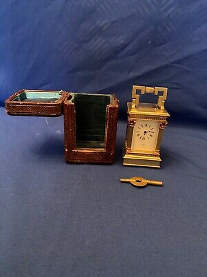 miniature carriage clock