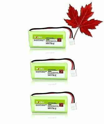 3X Cordless Home Phone Battery Pack aaa 2.4v 800mah Compatible with VTech BT1...