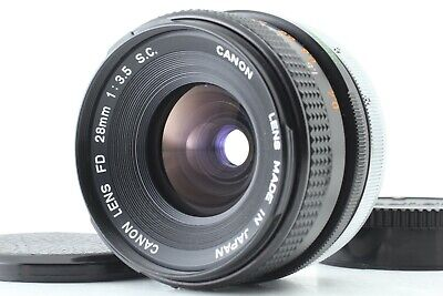 [EXC++++] Canon FD S.C. SC 28mm f3.5 MF Wide Angle Lens from Japan