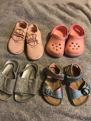 size 6 infant girls shoes bundle
