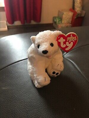 TY Beanie Baby - MWMTs 6.5 inch Internet Exclusive ICEPACK the Polar Bear